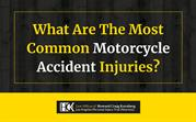 What are the Most Common Motorcycle Accident Injuries_