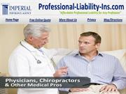 Professional Liability Insurance California