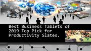 Best Business Tablets of 2019