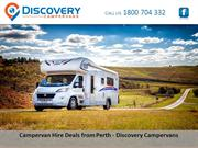 Campervan Hire Deals from Perth - Discovery Campervans