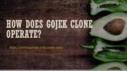 How does Gojek clone operate | Appdupe