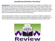 NutraKick Keto : Boosts The Metabolism Of Your Body