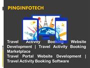 Travel Activity Booking Website Development - Travel Activity Booking