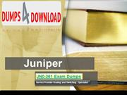 How I Improved My Juniper JN0-361 Exam Dumps In One Day
