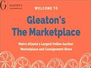 Top 10 Auction Companies in Atlanta - Gleaton's The Marketplace