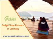 Budget yoga retreats in Germany-Gaia Retreat House