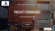 Air Freight Shipping Service
