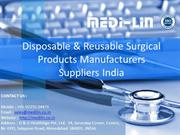 Medilin Surgical Products Manufacturers and Suppliers.
