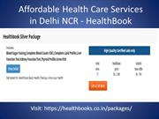 Affordable Health Care Services in Delhi NCR Healthbook
