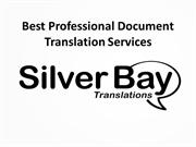 Best Professional Document Translation Services