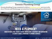 All types of Toronto Plumbing Services