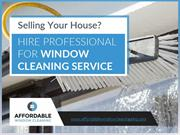 Professional Window Cleaning in ABQ - Affordable Window Cleaning
