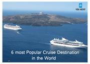 6 most popular cruise destination in the world