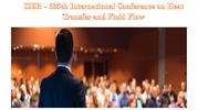 ISER - 635th International Conference on Heat Transfer and Fluid Flow