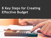 8 Key Steps for Creating Effective Budget