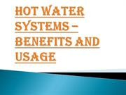 Tips For the Hot Water System Maintenance Canberra For You