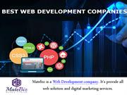 Hiring a Web Development Company for Batter Business