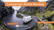 Tour Norway with a Campervan Rental
