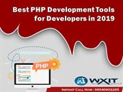 Best PHP Development Tools for Developers in 2019