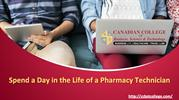 Spend a Day in the Life of a Pharmacy Technician