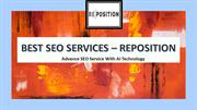 Get SEO Services With AI Technology - Reposition