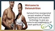 Nutrition Supplements Store in India – Deto Nutrition