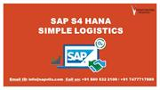 SAP S4 Hana Simple Logistics PPT |Simple Logistics Training Material