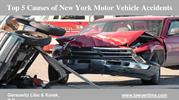 Causes of New York Automobile Accident - GLK Law