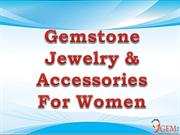 Gemstones Jewellery & Accessories for Womens