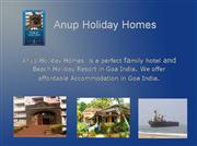 Best Holiday Resort in Goa India