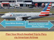 American Airlines Reservations | American Airlines Official Site