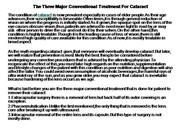 The Three Major Conventional Treatment F