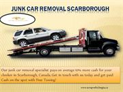 Junk Car Removal Scarborough