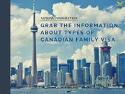 Grab the Information about Types of Canadian Family Visa(1)