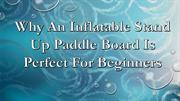 Why An Inflatable Stand Up Paddle Board Is Perfect For Beginners