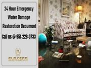 Best Water Damage Restoration Company Beaumont California