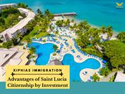 Advantages of Saint Lucia Citizenship by Investment