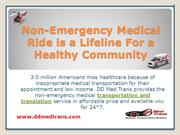 Non-Emergency Medical Ride is a Lifeline for a Healthy Community