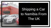 Car Shipping Services - Shipping a Car to Walvis Bay
