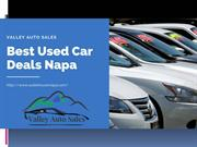 Best Used Car Deals Napa