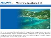 Welcome to Abaco Ltd