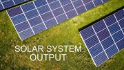 5kW solar systemp output