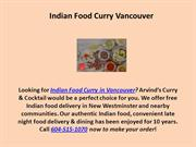 Best Indian Food Curry in Vancouver