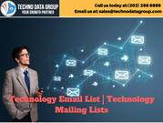Technology Email List _ Technology Mailing Lists in usa