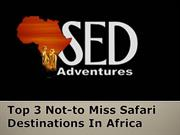Top 3 Not-to Miss Safari Destinations In Africa