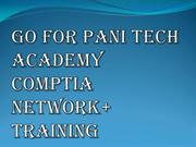 Comptia Network+ Certification | PANI TECH ACADEMY