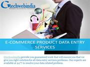 Cost-Effective Ecommerce Data entry Services