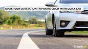 Make Your Outstation Trip More Crazy With Cab Service In Mumbai