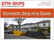 Domestic Skip Hire