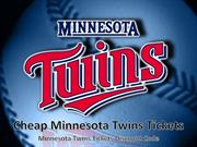 Discount Minnesota Twins Tickets | Twins Match Promo Code